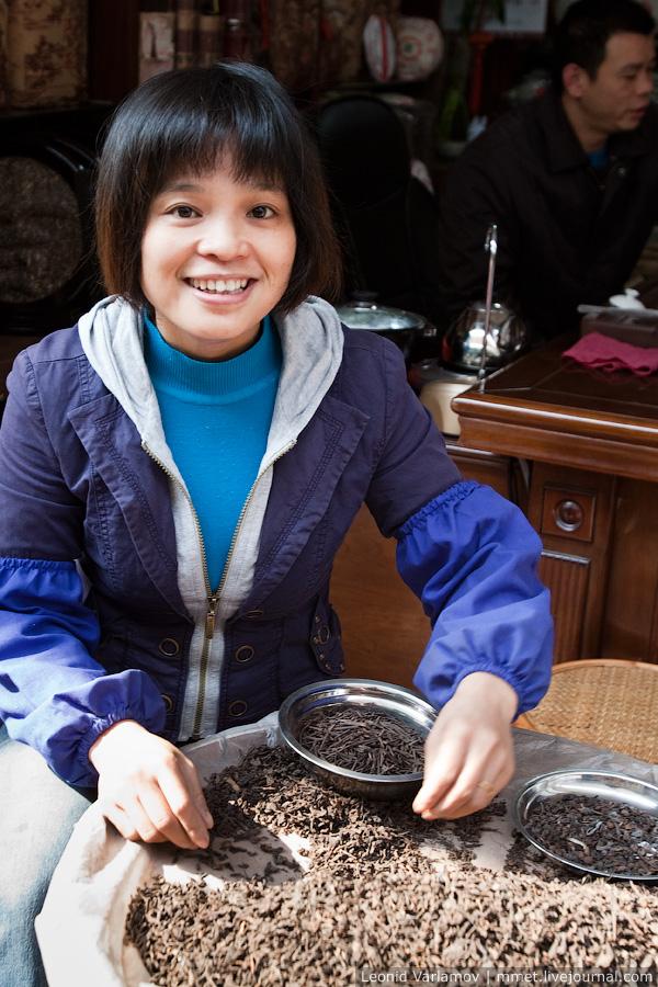 889 Чайный рынок Fang Cun в Гуачнжоу