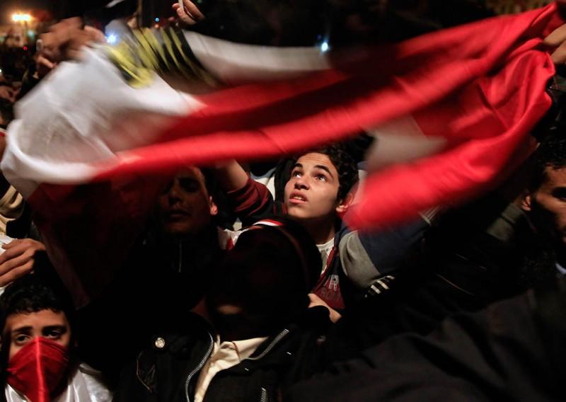 Они ждали и дождались: Мубарак подал в отставку