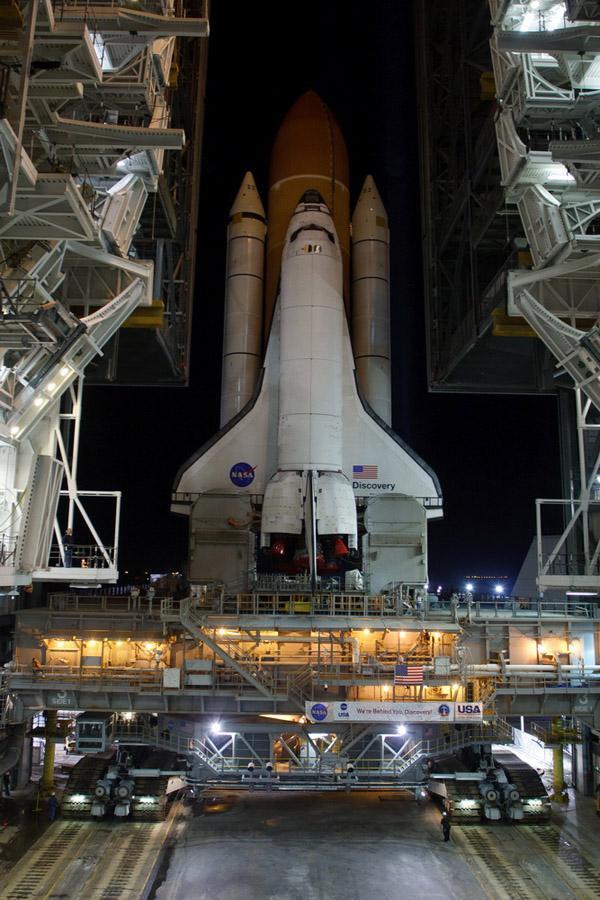 space shuttle preparation 15 Шаттл Discovery готовят к последнему полету