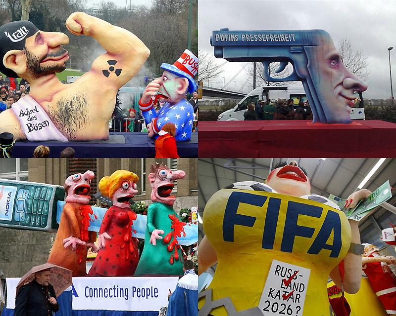 0011  Политическая сатира на немецких карнавалах