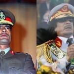 Муаммар Каддафи в разные годы своего правления