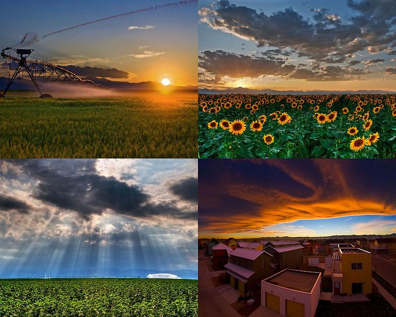 0020 Облака и закаты