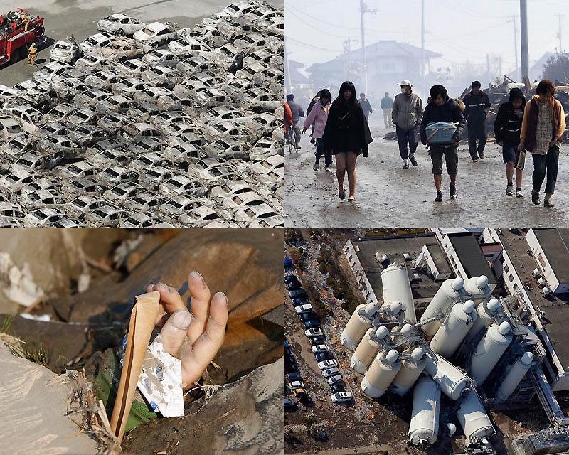 Землетрясения и цунами в японии