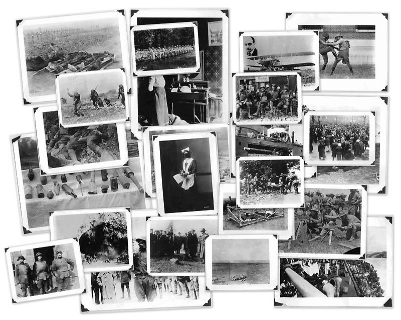 0067 Фотографии времен Первой мировой войны, запрещенные цензурой