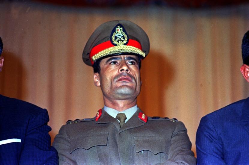 01 Муаммар Каддафи в разные годы своего правления