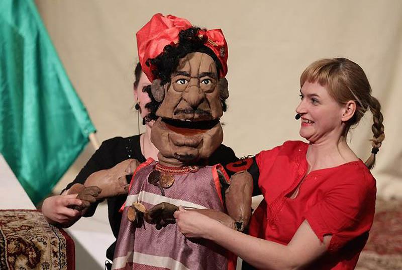0120 Кукольный спектакль про Каддафи
