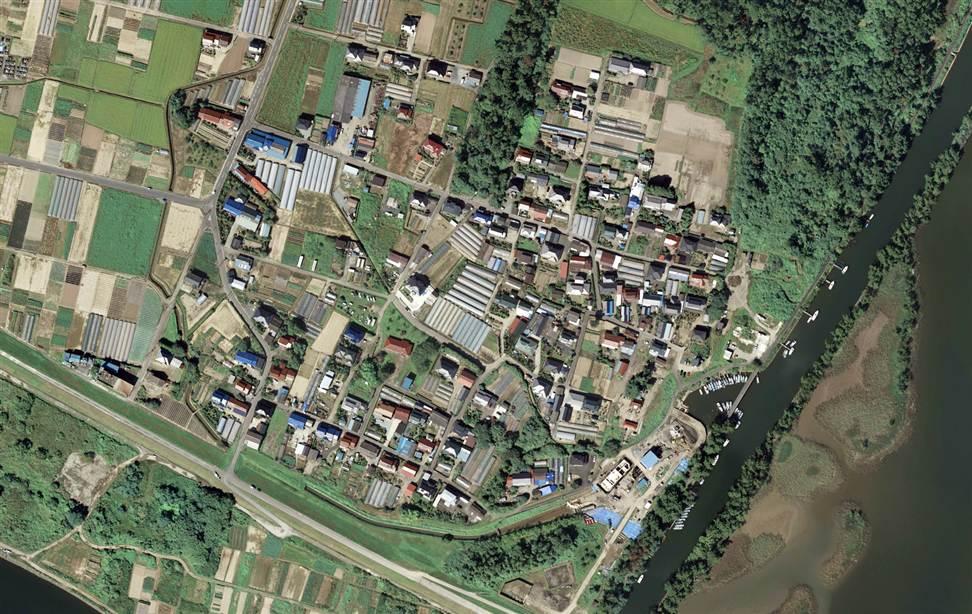 0122 Снимки со спутника: До и после землетрясения в Японии