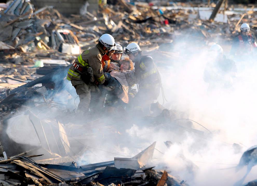 0125 Последствия землетрясения и цунами в Японии