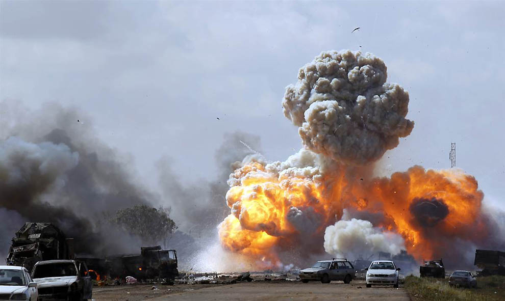 0137 operasi militer di Libya