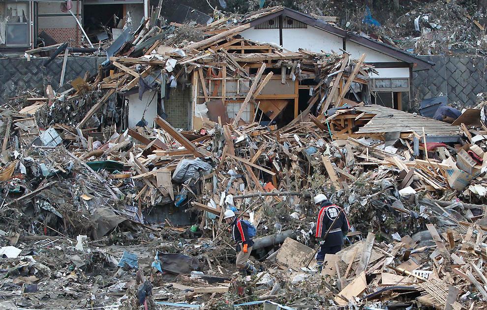 0225 Последствия землетрясения и цунами в Японии