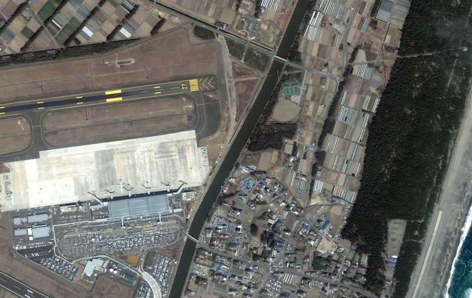0322 Снимки со спутника: До и после землетрясения в Японии