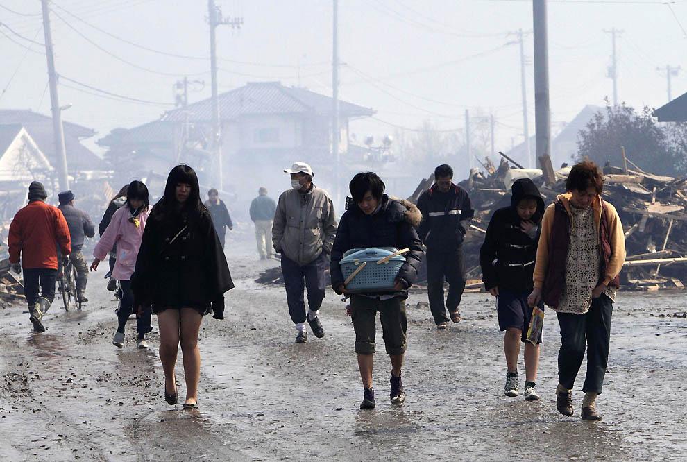 0325 Последствия землетрясения и цунами в Японии