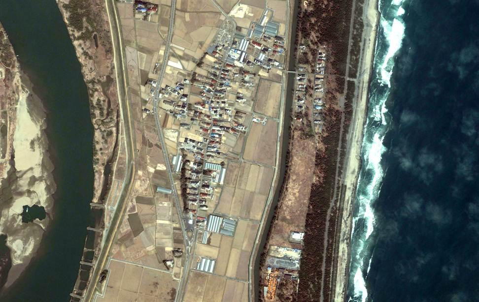 0522 Снимки со спутника: До и после землетрясения в Японии