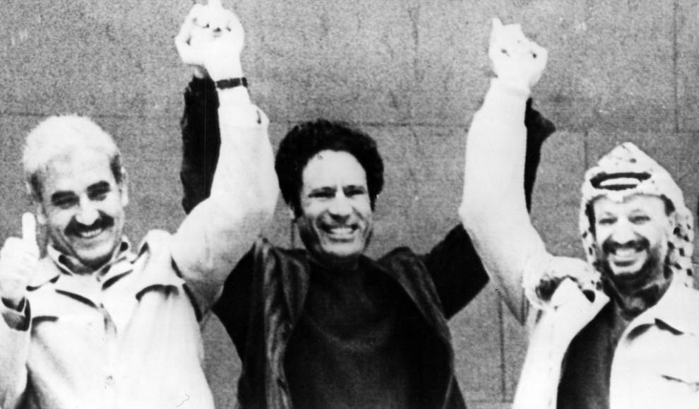 06 990x579 Муаммар Каддафи в разные годы своего правления