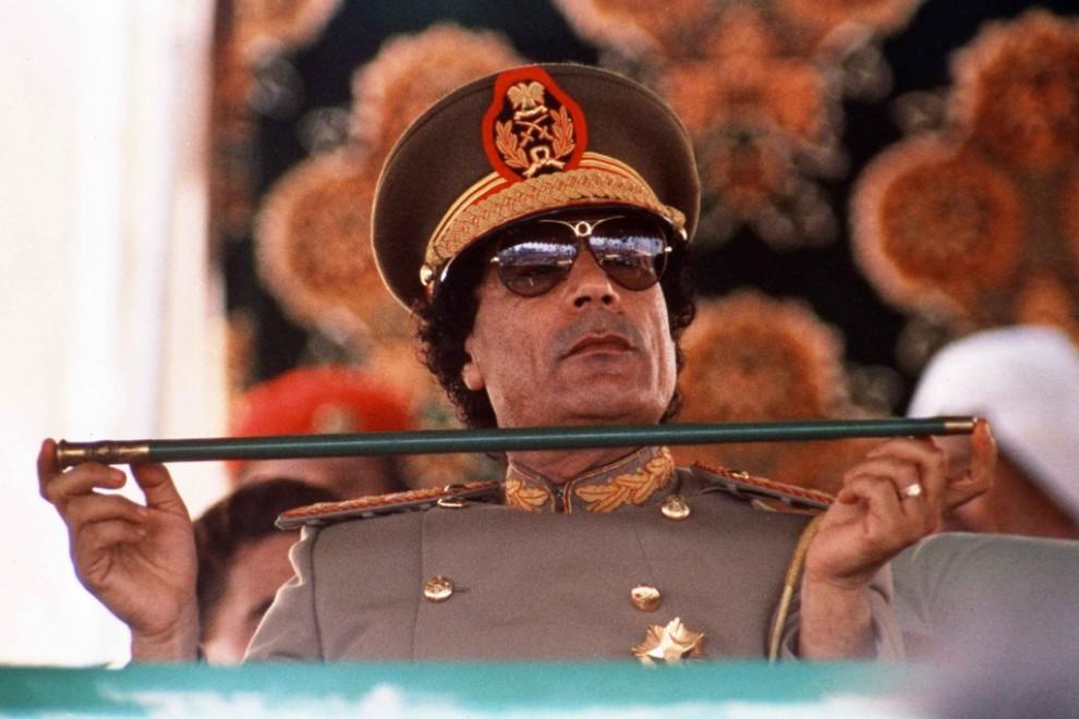 07 990x660 Муаммар Каддафи в разные годы своего правления