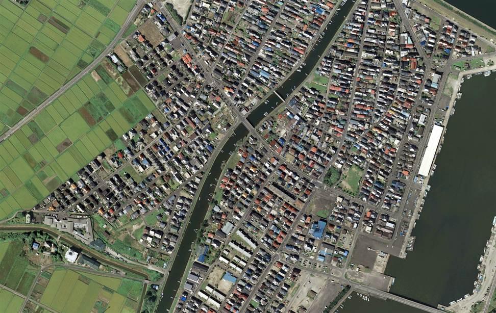 0721 Снимки со спутника: До и после землетрясения в Японии