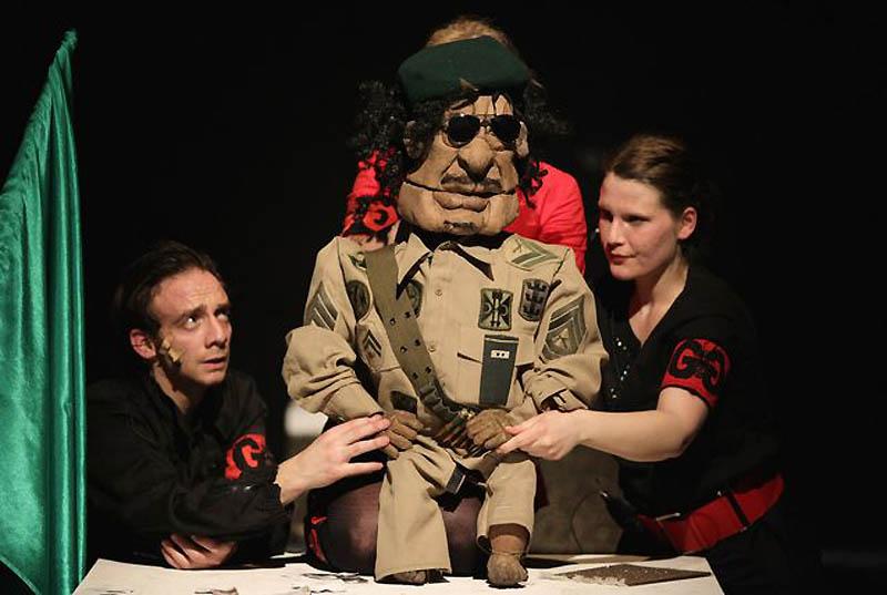 0819 Кукольный спектакль про Каддафи
