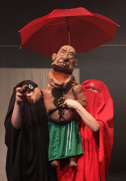 0918 Кукольный спектакль про Каддафи