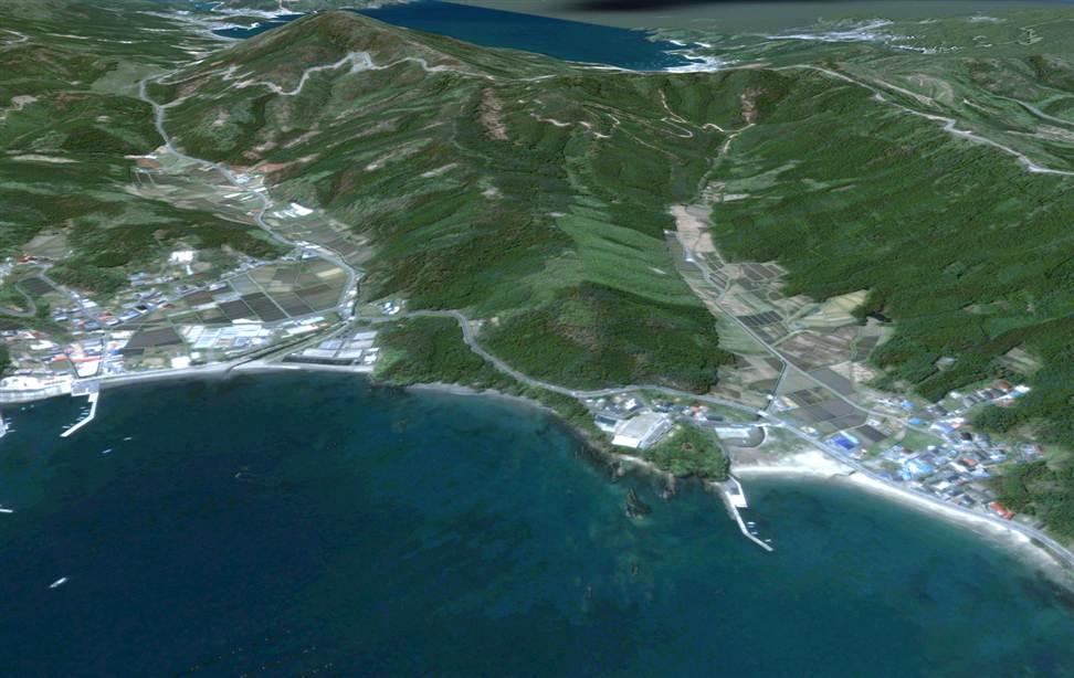 0920 Снимки со спутника: До и после землетрясения в Японии