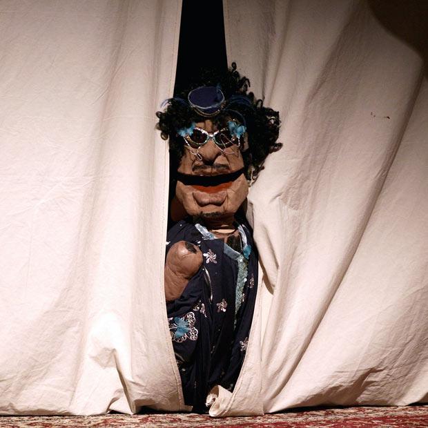 1031 Кукольный спектакль про Каддафи