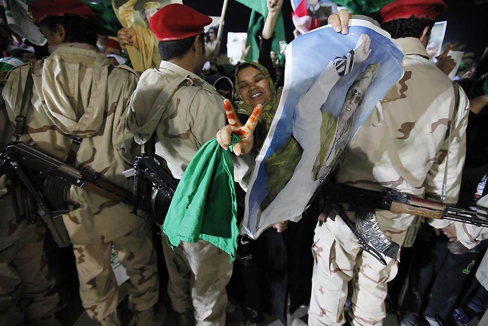 1060 operasi militer di Libya