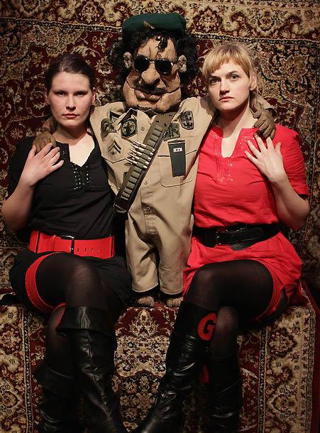 1136 Кукольный спектакль про Каддафи
