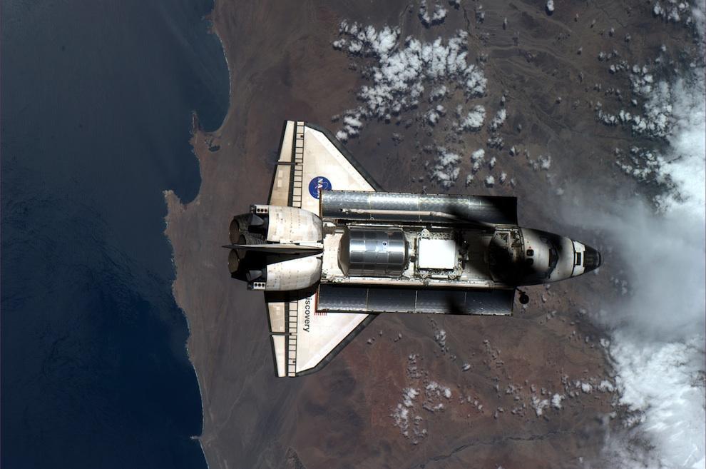 1156 Выход в открытый космос: Голубое небо под ногами