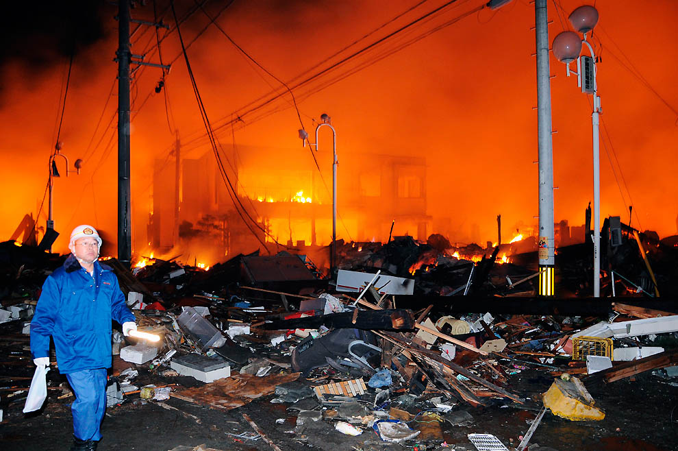 1229 tsunami dan konsekuensi lain dari gempa di Jepang