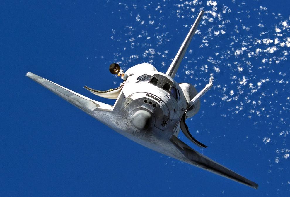 1248 Выход в открытый космос: Голубое небо под ногами