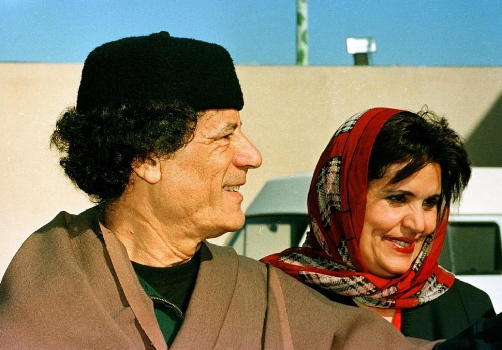 13 990x690 Муаммар Каддафи в разные годы своего правления