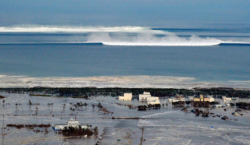 1327 tsunami dan konsekuensi lain dari gempa di Jepang