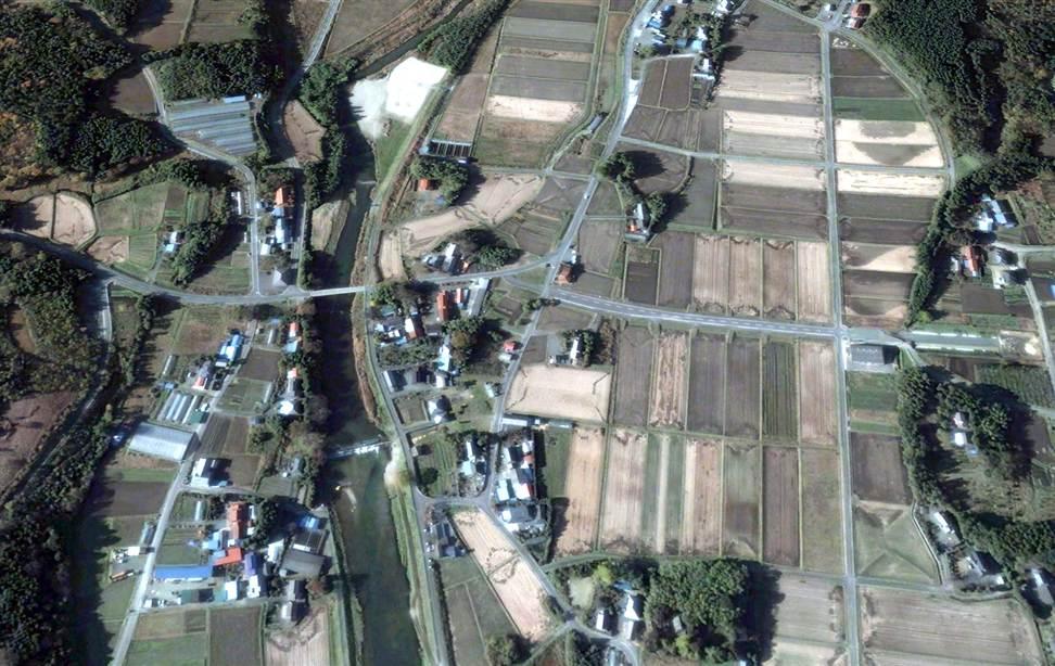1329 Снимки со спутника: До и после землетрясения в Японии