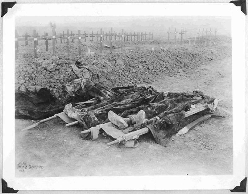 1373 Фотографии времен Первой мировой войны, запрещенные цензурой