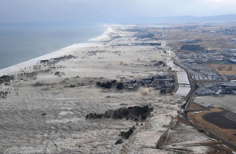 1430 tsunami dan konsekuensi lain dari gempa di Jepang
