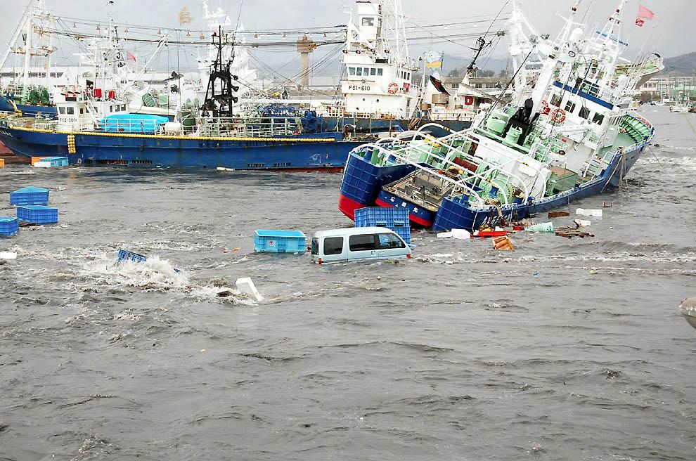 1525 tsunami dan konsekuensi lain dari gempa di Jepang