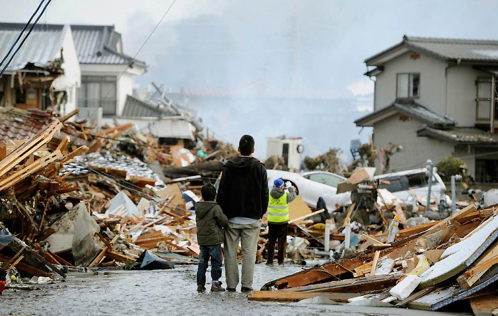 1536 Последствия землетрясения и цунами в Японии