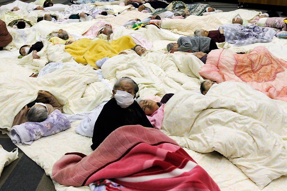 1733 Последствия землетрясения и цунами в Японии