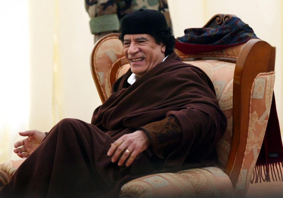 18 990x693 Муаммар Каддафи в разные годы своего правления