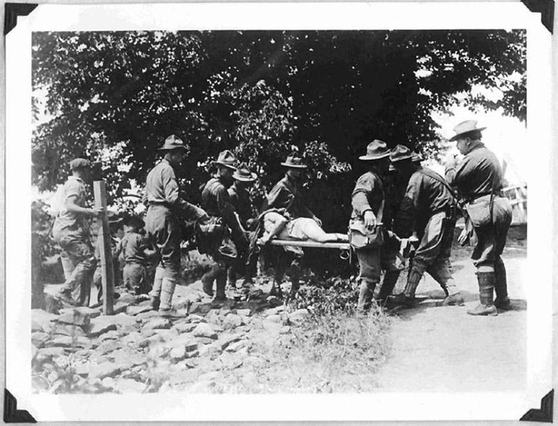 1851 Фотографии времен Первой мировой войны, запрещенные цензурой