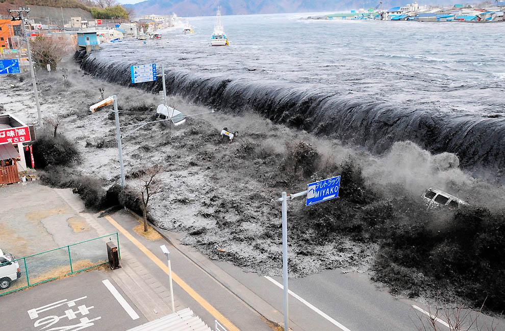1924 Последствия землетрясения и цунами в Японии
