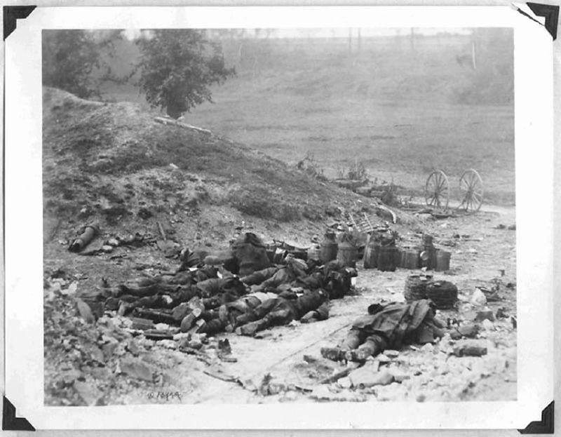2047 Фотографии времен Первой мировой войны, запрещенные цензурой