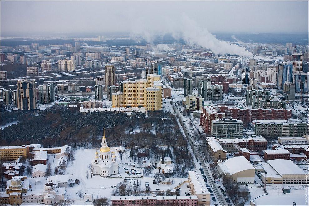 Высотный Екатеринбург