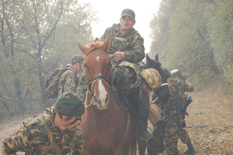 34-я горная бригада. Вьючно-транспортный взвод