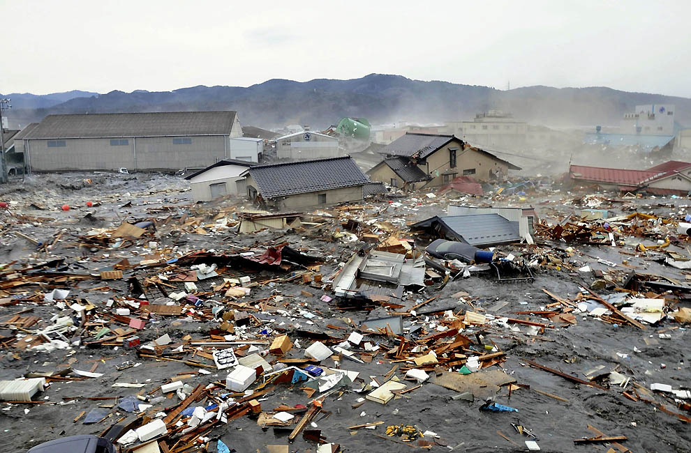 2120 tsunami dan konsekuensi lain dari gempa di Jepang