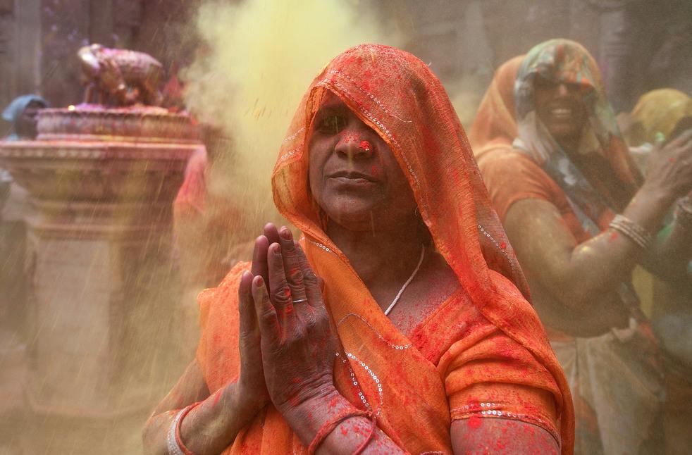 Холи - индусский праздник красок