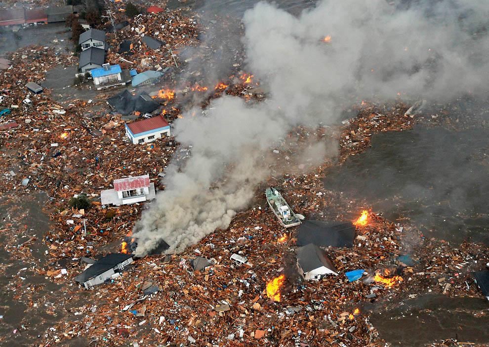 2213 tsunami dan konsekuensi lain dari gempa di Jepang