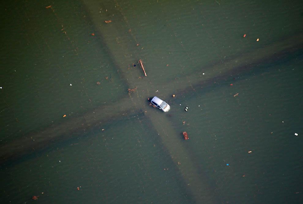 2221 Последствия землетрясения и цунами в Японии