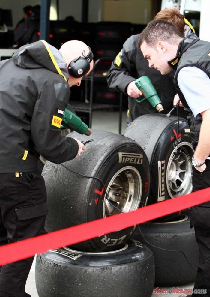 За кулисами Гран-при Австралии 2011, Формула-1: тесты, квалификация