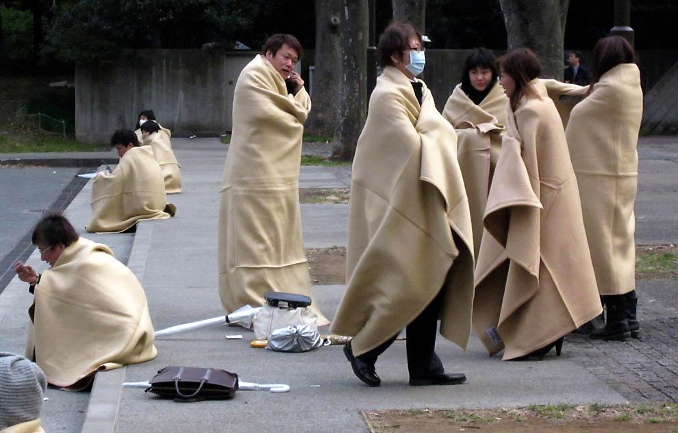 2312 tsunami dan konsekuensi lain dari gempa di Jepang
