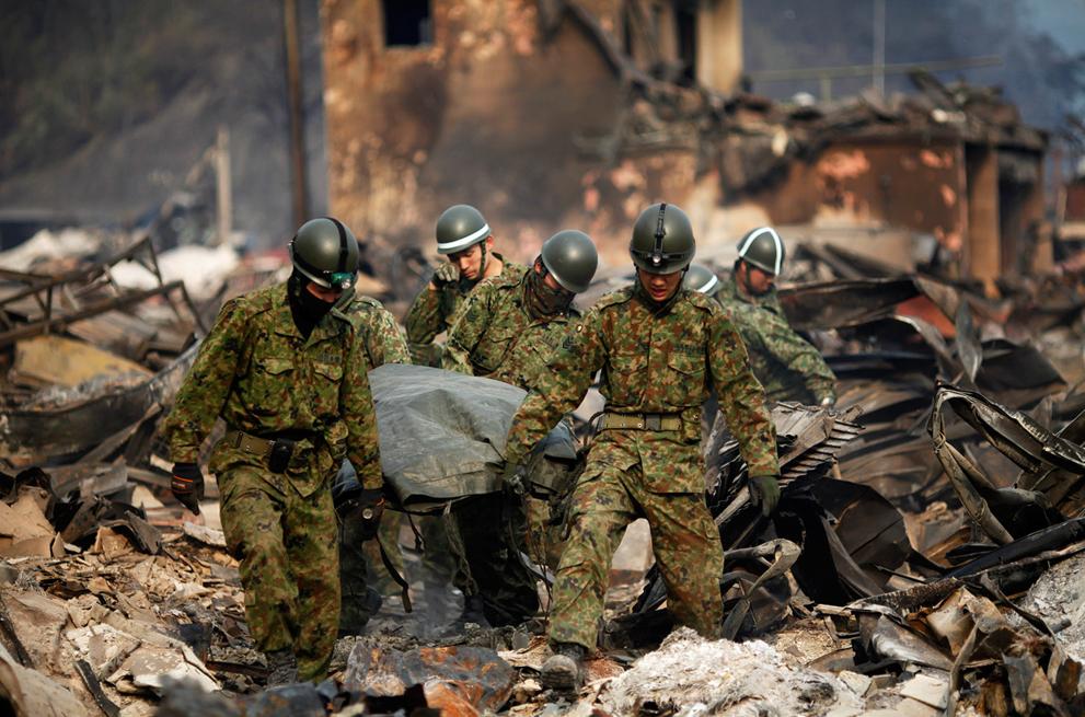 Япония - спасение, исцеление и последствия